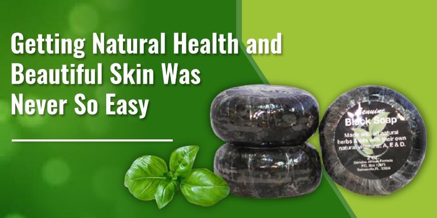 Natural health and beauty skin